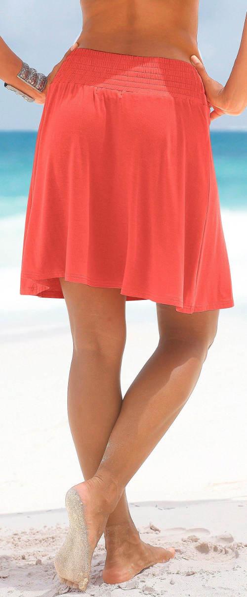 Strand szoknya fürdőruha felett