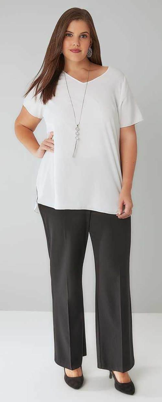 Túlzott női hivatalos nadrág