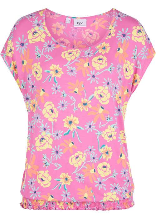 Modern és praktikus póló elasztikus szegéllyel plus size hölgyeknek