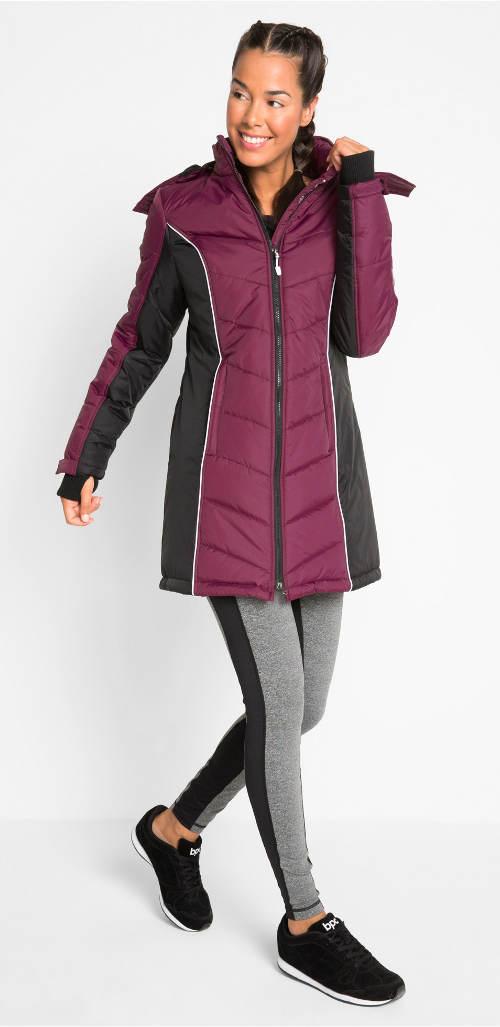 Meleg steppelt téli kabát plusz méretben
