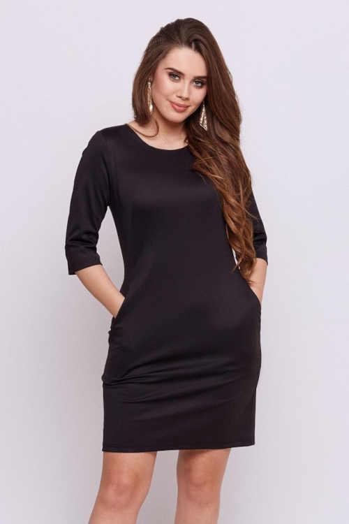 Modern ruha kényelmes 3/4 hosszú ujjakkal és praktikus zsebekkel
