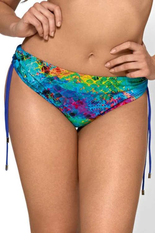Többszínű bikini alsó pufók nőknek