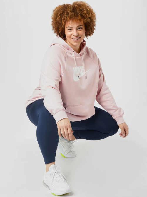 Nike kapucnis pulóver zsebbel