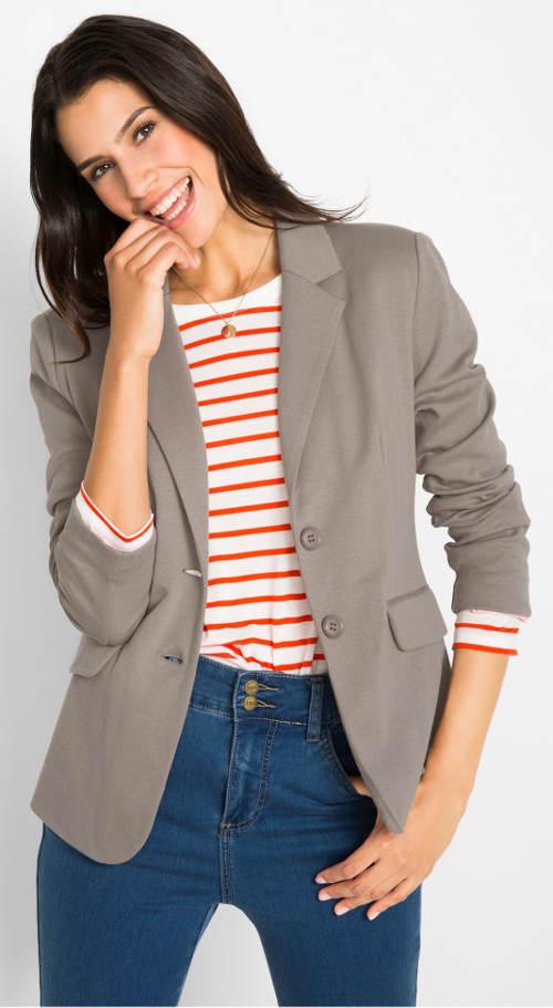 Női trikó kabát – pamut blézer